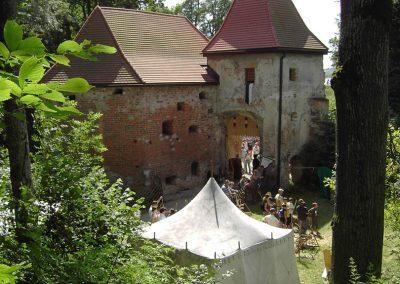 Lagerleben Burg Frauenstein
