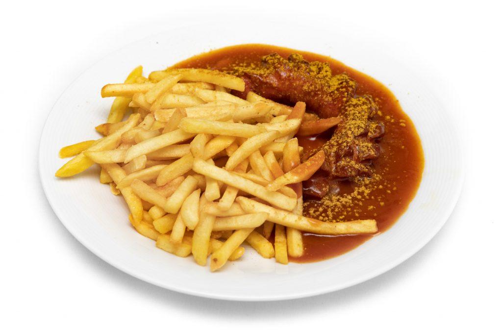 Currywurst schräg