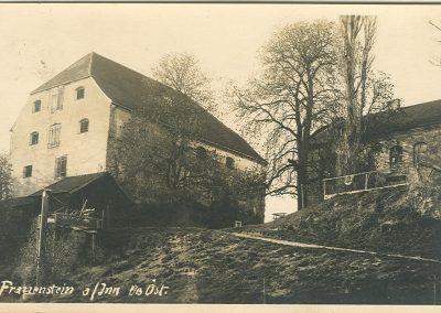 Salzstadl und Aufgang vom Turnierplatz vor 1933