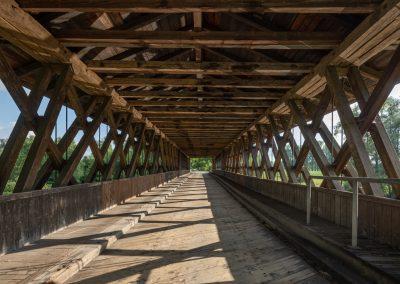 Schärding Holzbrücke Rott