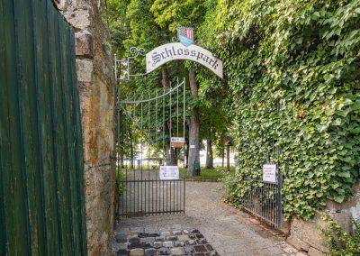Schärding Schlossgarten Eingang