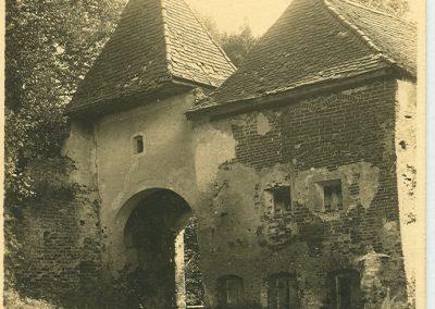 Torturm Burg Frauenstein alt