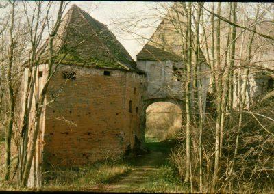 Torturm Frauenstein vorher